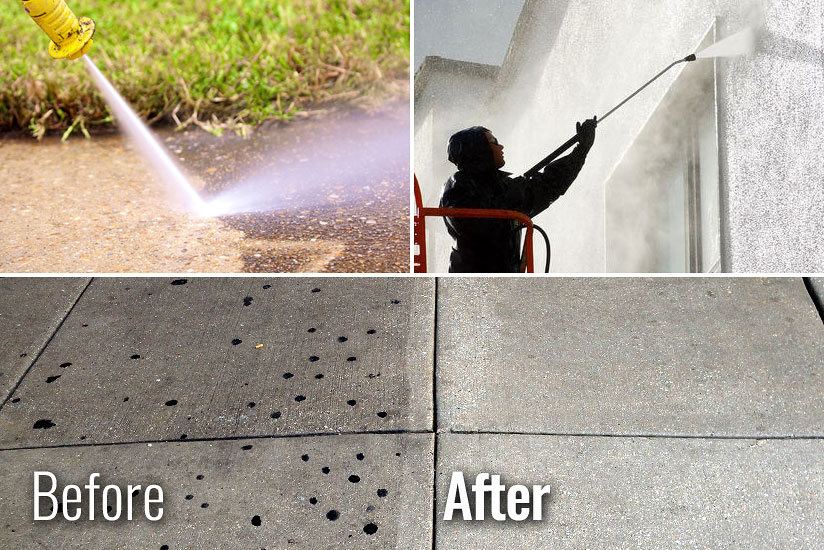 Commercial Property Pressure Washing Milton Ontario Area