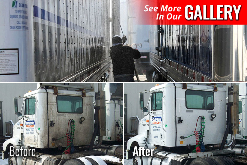 Truck Fleet Washing Milton Ontario