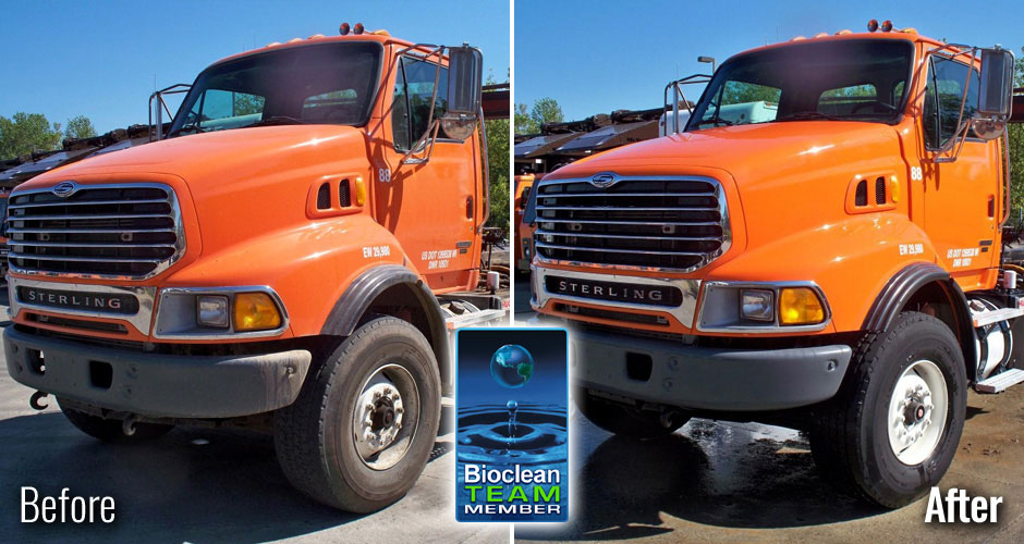 Truck Fleet Washing Oakville Ontario